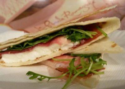 Piada artigianale ricetta antica romagnola
